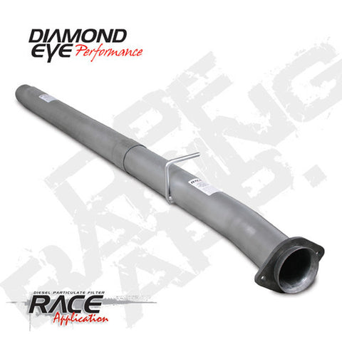 DPF/ DOC STAINLESS STEEL DELETE PIPE RACE PIPE 2PC.