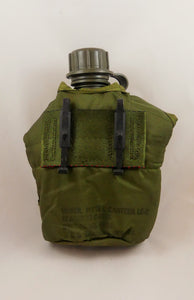 Military Surplus Canteen with Cover