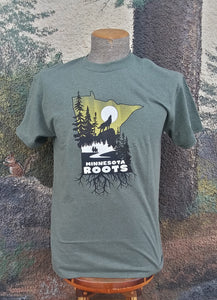 Minnesota Roots Tee Green