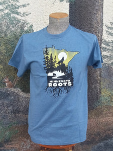 Minnesota Roots Tee - Blue