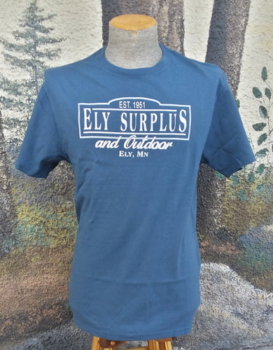 Ely Surplus Logo Tee