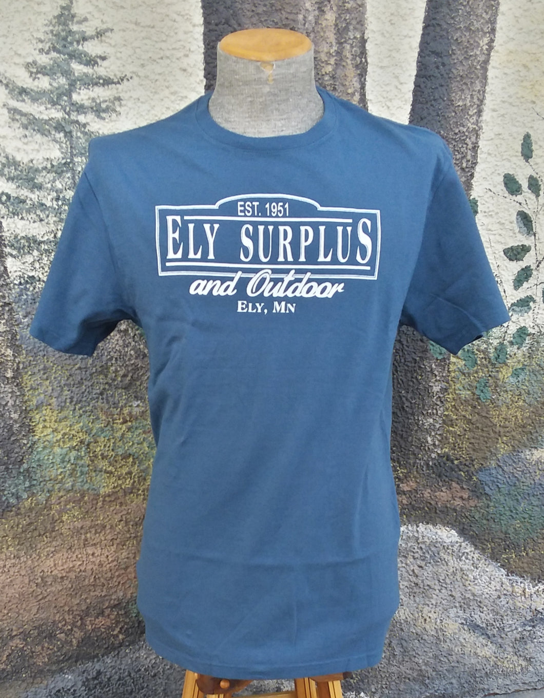 Ely Surplus Logo Tee - Short Sleeve
