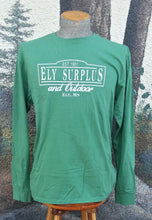 Load image into Gallery viewer, Ely Surplus Logo Tee - Long Sleeve