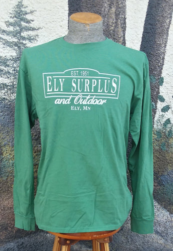 Ely Surplus Logo Tee - Long Sleeve
