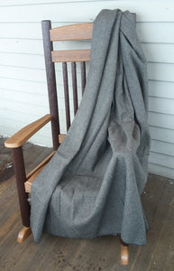 Wool Blanket- Grey