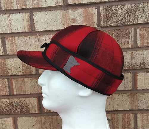 Minnesota Stormy Kromer - Red & Black