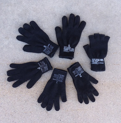 Wool Gloves   Two- pack