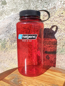32 oz Nalgene Red