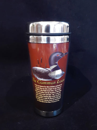 12oz Loon Travel Mug