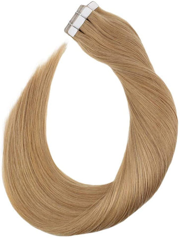 Ash Blonde #16 Tape In Human Hair Extensions