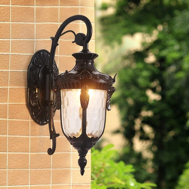 Balcony wall lamp