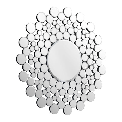 Circles round mirror clear