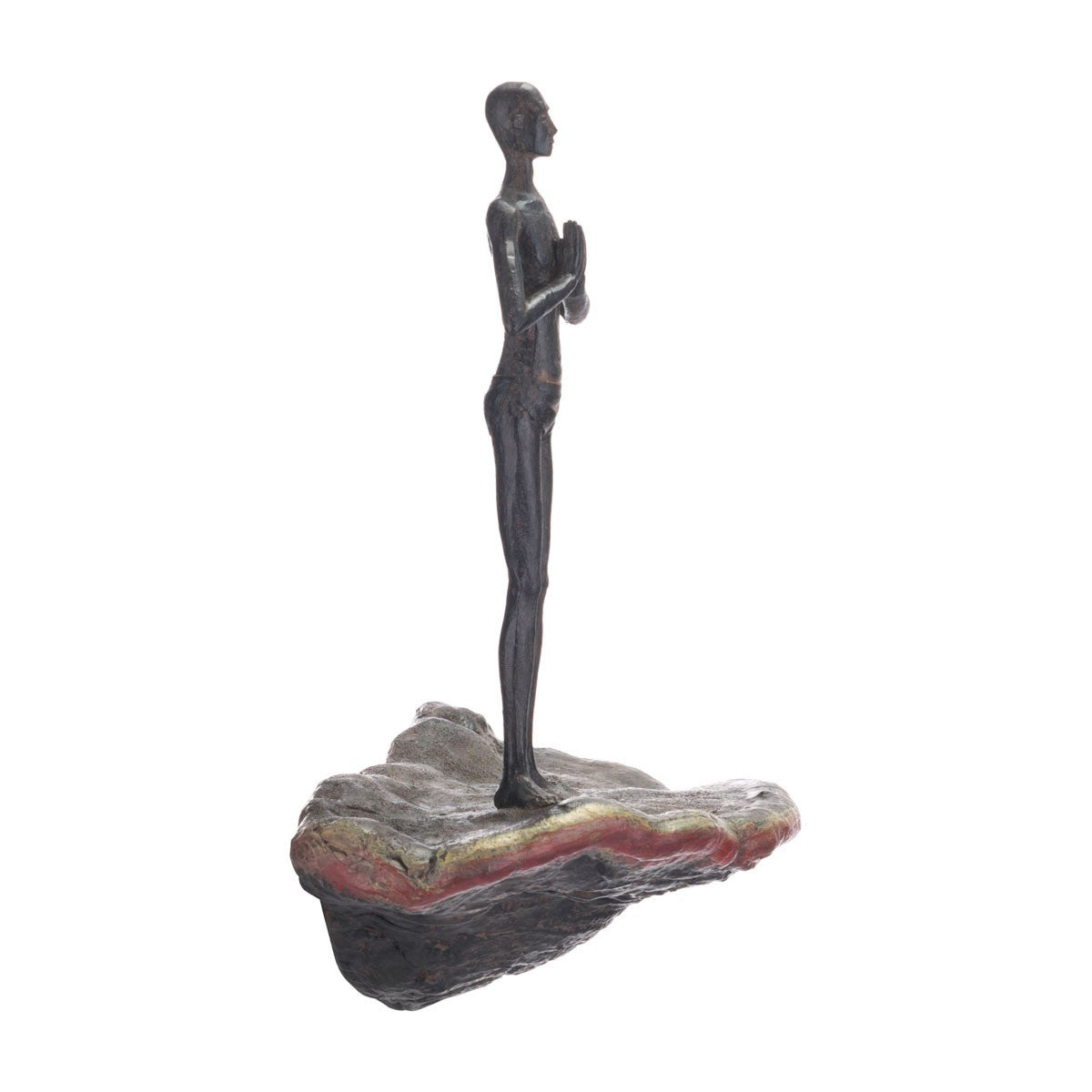 Zuo Waiting Figurine Wall Decor Bronze