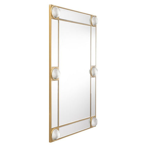 Zuo Rectangle Lucite Mirror Mirror & Lucite