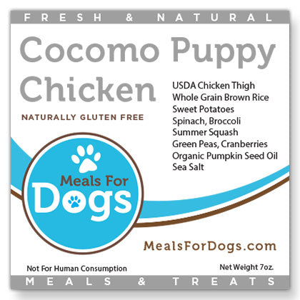 Cocomo Puppy Chicken & Brown Rice