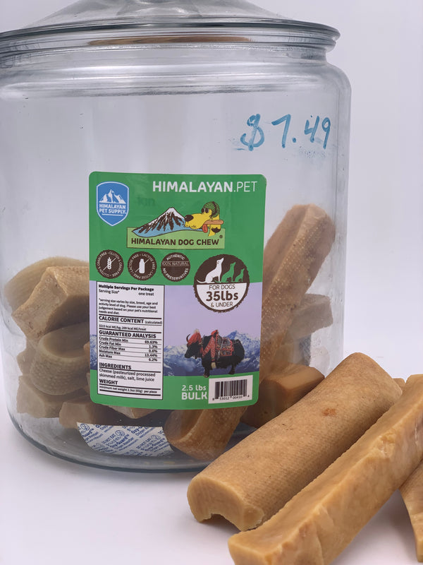 Himalayan Dog Chews-Medium 35lbs and under
