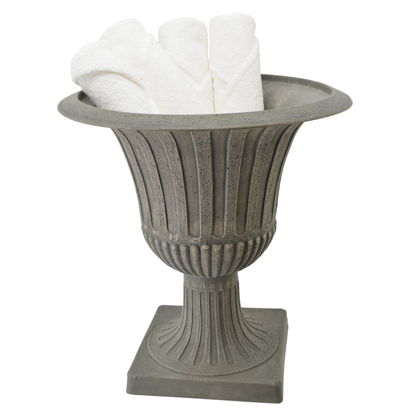 Worthington urn with guest towels
