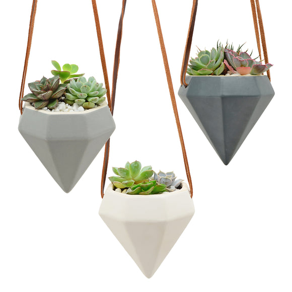 Diamond Air Planters, Matte Series