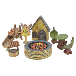 Pleasant Afternoon Fairy Garden Kit