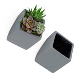 Cube Wall Planter, Matte Series