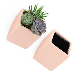 Cube Wall Planter, Pastel Series
