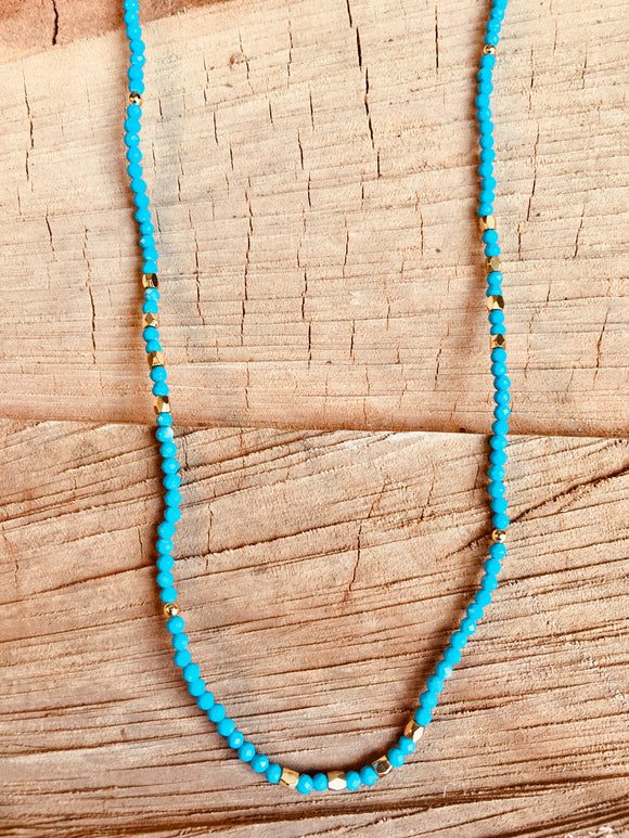 Turquoise with vermeil