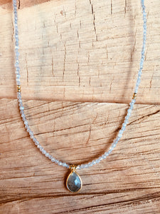 Labradorite with pendant