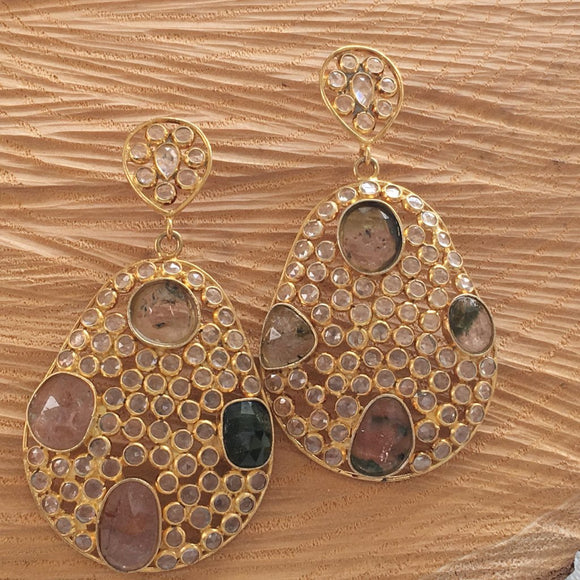 Mozaic earrings