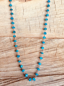 Brazilian Apatite necklace