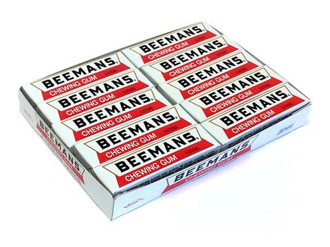 Beemans Gum 5 Stick Pack or 20 Count Box