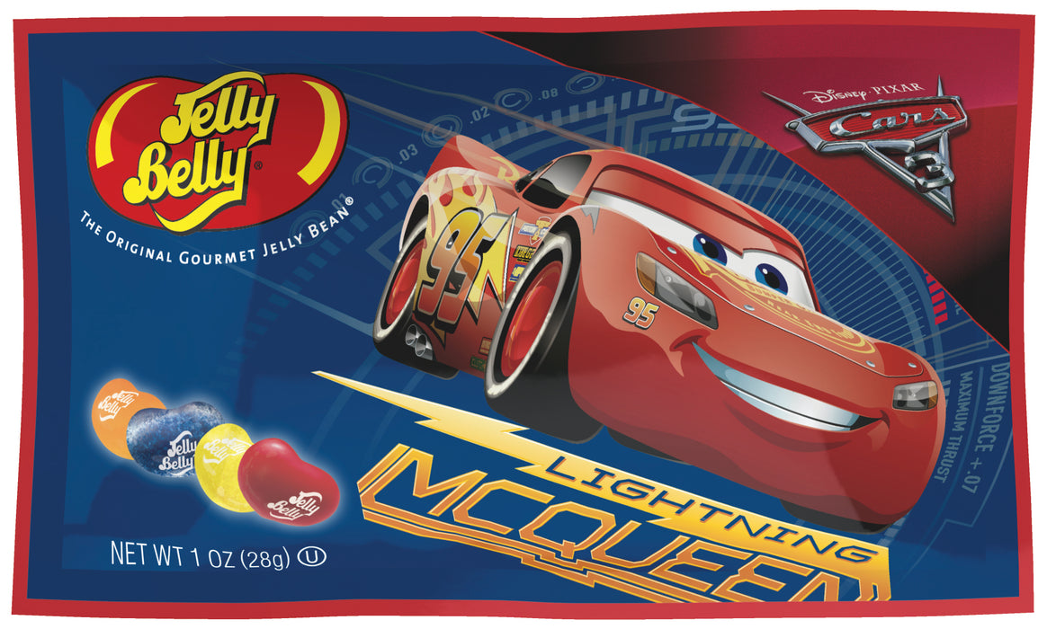 Jelly Belly Cars 3 1oz Bag or 24 Count Box