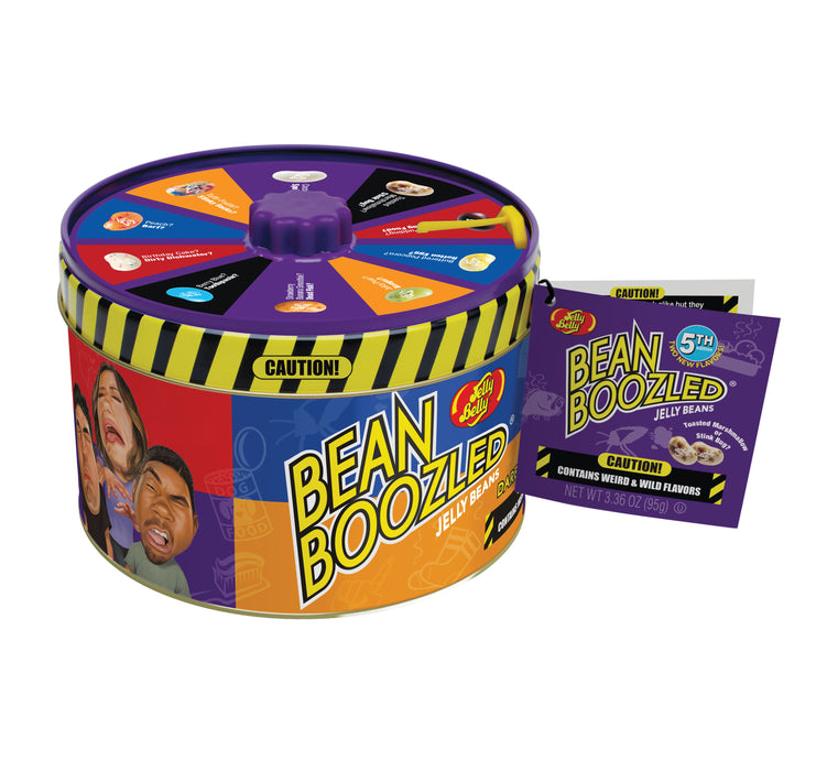 Jelly Belly Bean Boozled 3.36oz Spinner Tin