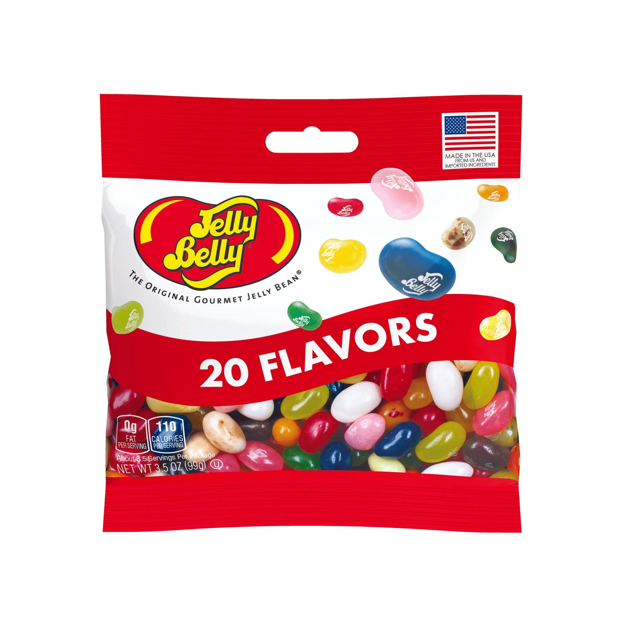 Jelly Belly 20 Flavor 3.5oz Bag