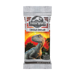Jelly Belly Jurassic World Chocolate Dino .55oz Bag or 24 Count Box