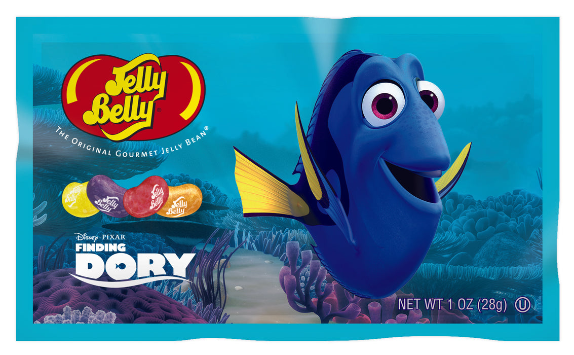 Jelly Belly Finding Dory 1oz Bag or 24 Count Box