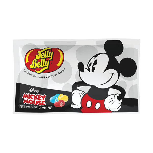 Jelly Belly Mickey Mouse 1oz Bag or 24 Count Box