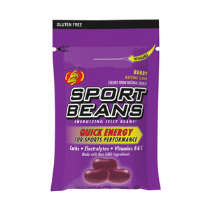 Jelly Belly Sport Beans Berry 1oz Bag or 24 Count Box