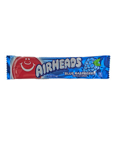 Airheads Blue Raspberry .55oz Bar or 36 Count Box