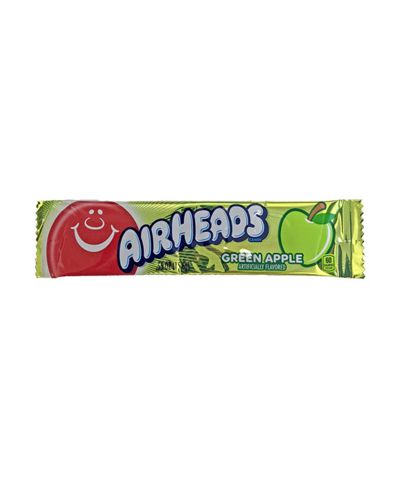 Airheads Green Apple .55oz Bar or 36 Count Box