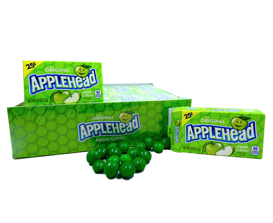 Appleheads .8oz Box 24 Count Pack