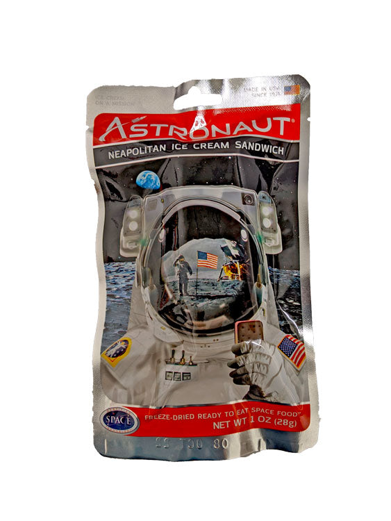 Astronaut Ice Cream Sandwich Neapolitan 1oz Bar or 50 Count Case