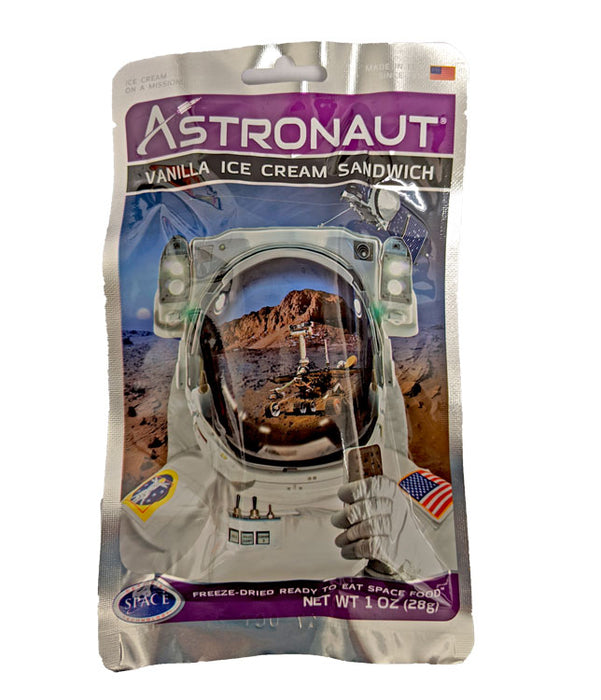 Astronaut Ice Cream Sandwich Vanilla 1oz Bar or 50 Count Case