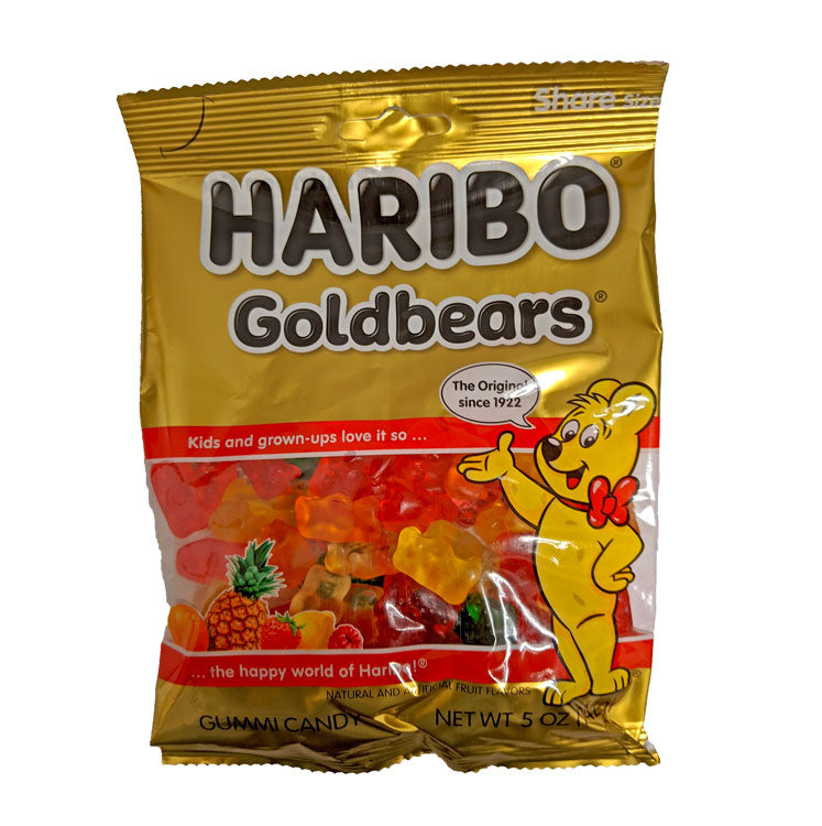 Haribo Gold Bears 5oz Bag or 12 Count Box