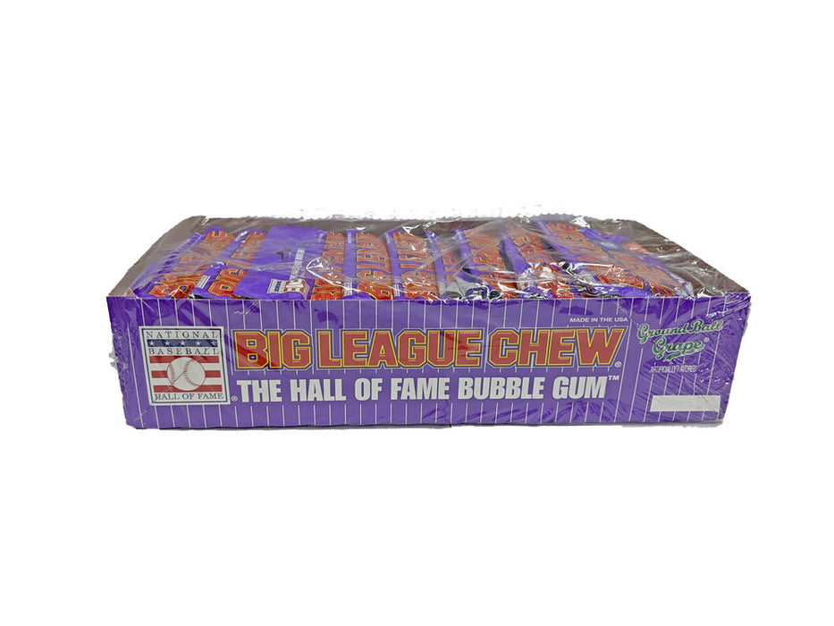 Big League Chew Ground Ball Grape Gum 2.12oz Pack or 12 Count Box