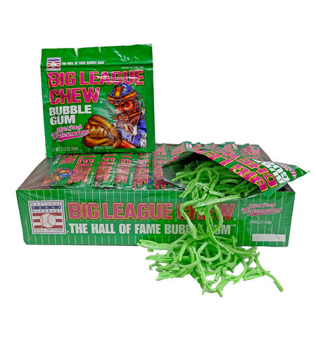 Big League Chew Wild Pitch Watermelon Gum 2.12oz Pack or 12 Count Box