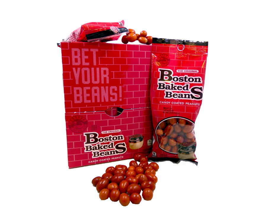 Boston Baked Beans 2.9oz Bag or 8 Count Box