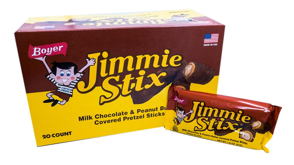 Boyer 1.8oz Bar Jimmie Stix 20 Count Box