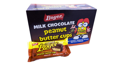 Boyer Peanut Butter Cup 1.6oz Piece or 24 Count Box