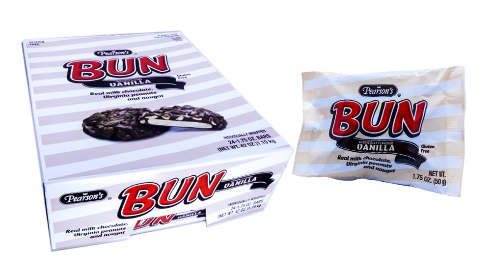 Bun Bar Vanilla 1.75oz Bar or 24 Count Box