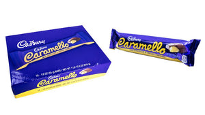 Cadbury Caramello 1.6oz Bar or 18 Count Box